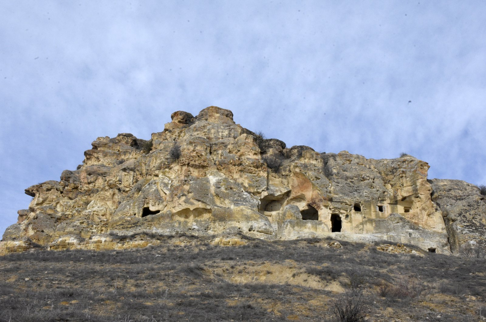 The monastery was built in the 13th century by rock carving. (AA Photo)