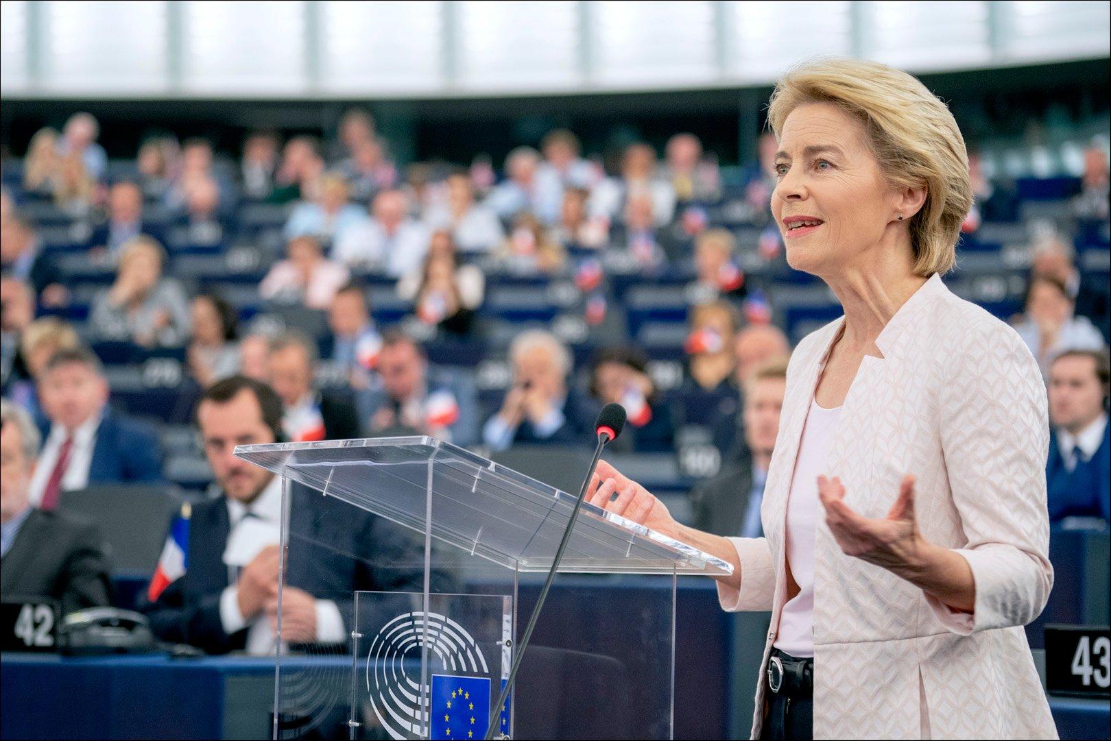 EU Commission President Ursula von der Leyen has promised