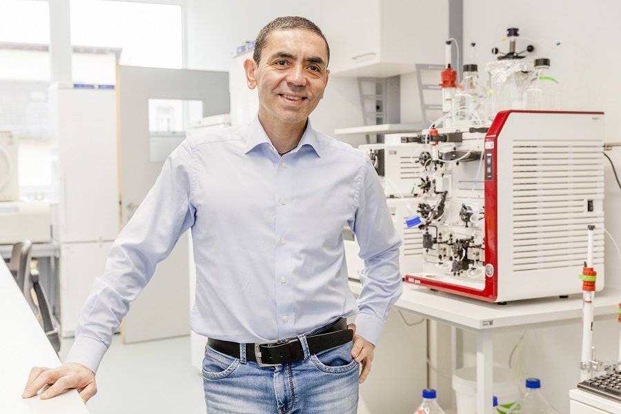 Uğur Şahin co-founded BioNTech in 2008 and has served as Chief Executive Officer ever since. (File Photo)