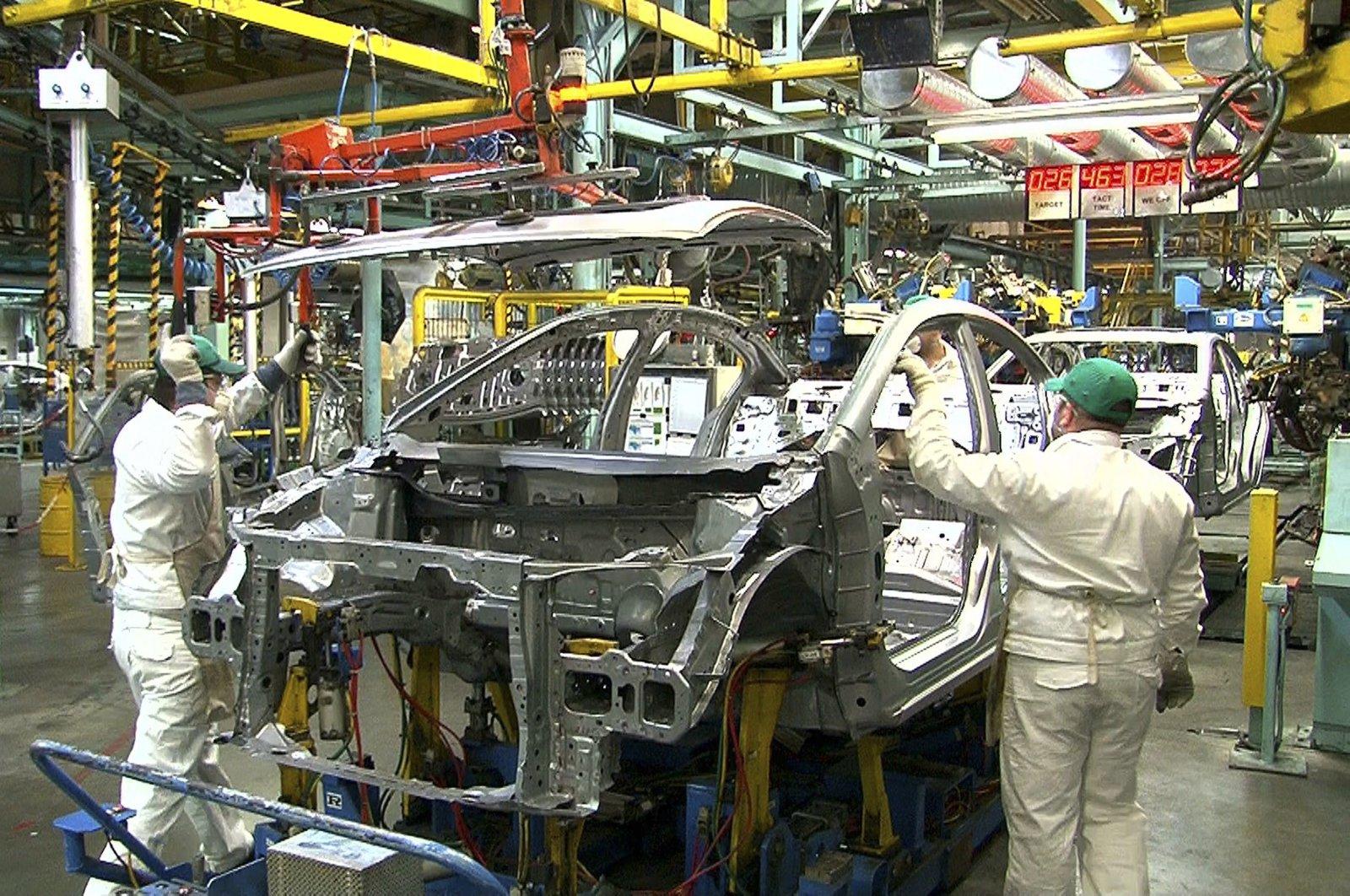 Undated file photo of Honda Turkey's factory in the Gebze district of northwestern Turkey's Kocaeli province.