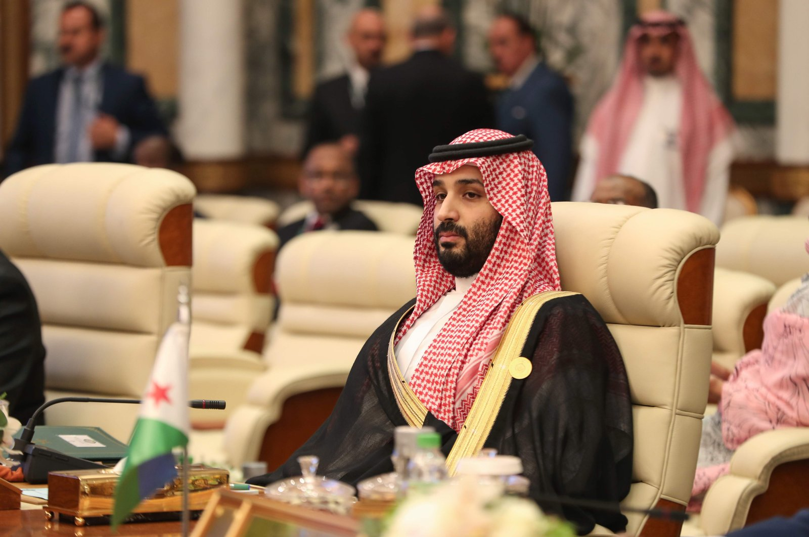 Saudi Crown Prince Mohammed bin Salman attends the extraordinary Arab summit held at al-Safa Royal Palace, Mecca, May 31, 2019. (AFP Photo)