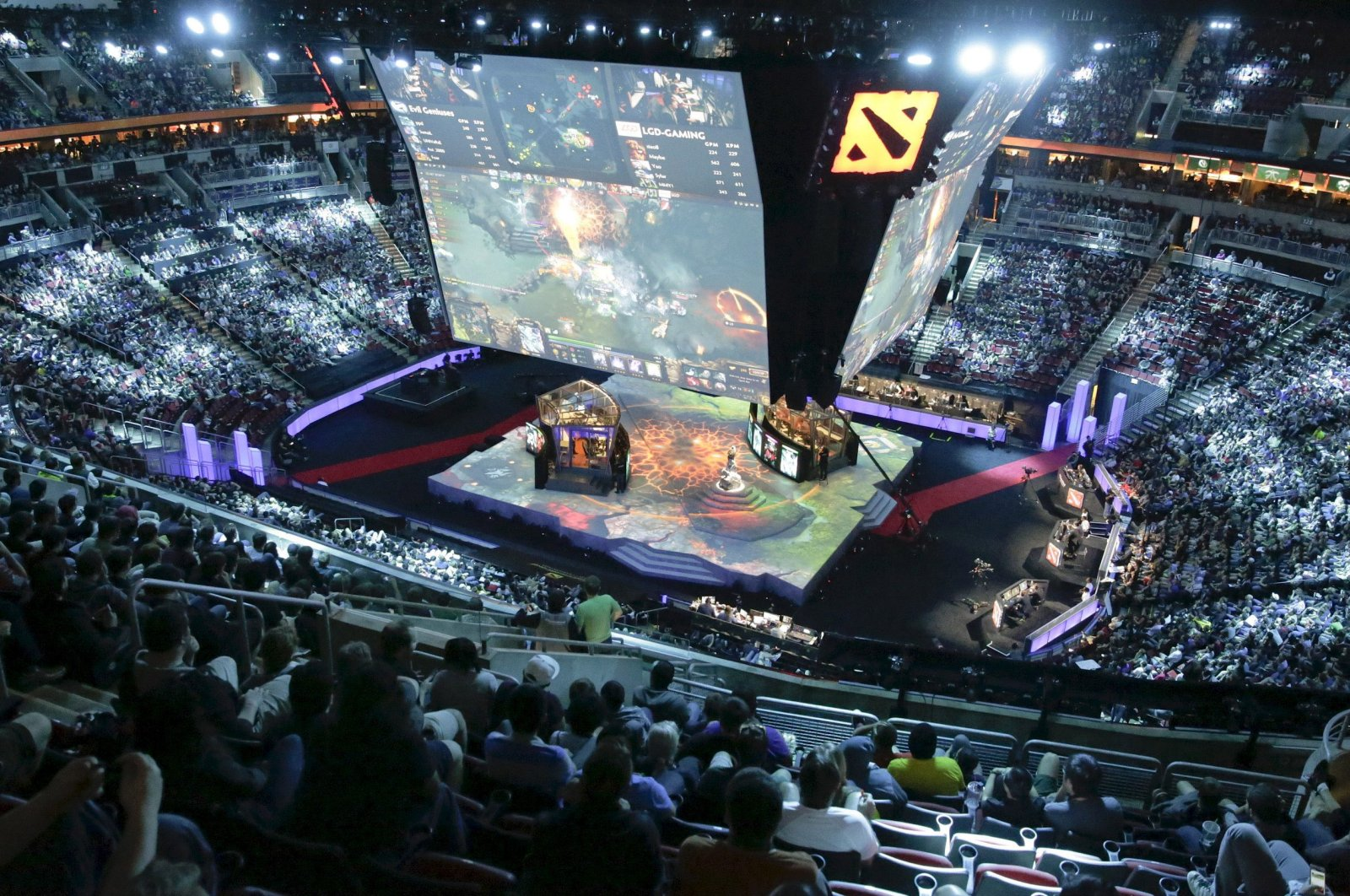 Now a billion-dollar industry, esports can reach millions of viewers due to the ease of access and a growing demographic. (Reuters Photo)