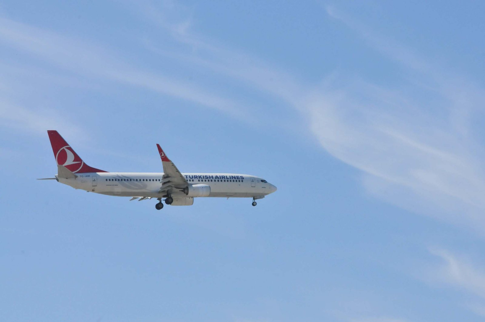 An undated file photo of a Turkish Airlines plane. (DHA Photo)