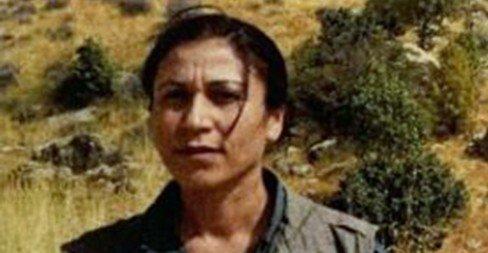 PKK's women's branch head Halide Tarı. (IHA Photo)
