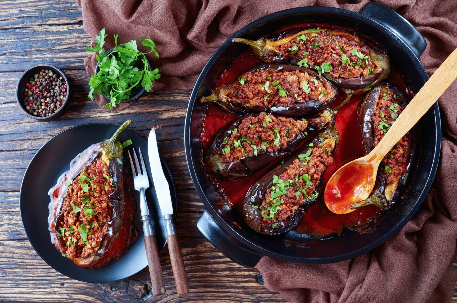Karnıyarık is a classic Turkish dish and a must for the menu of any Turkish restaurant. (iStock Photo)