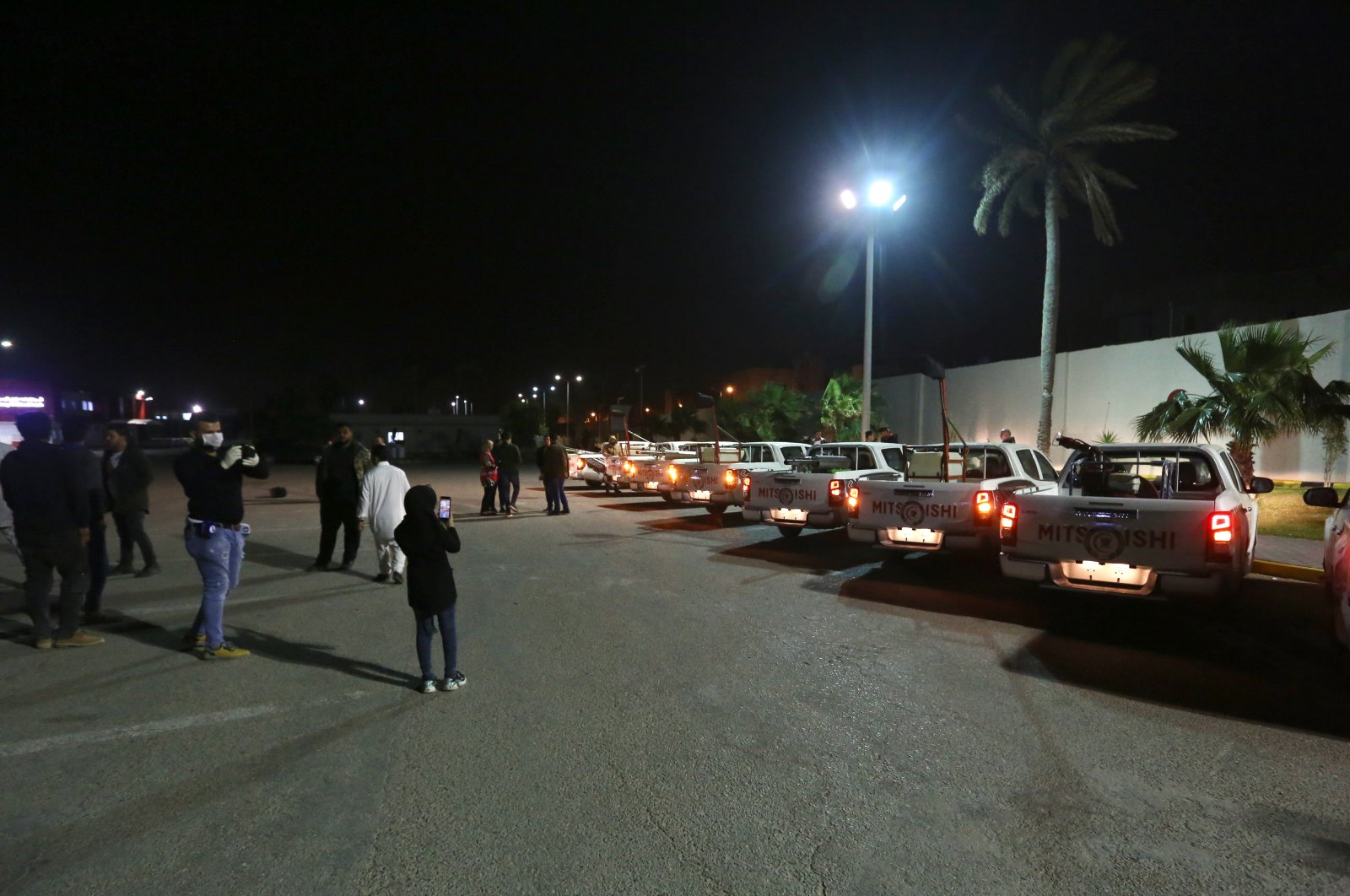 Libya's internationally recognized Government of National Accord in Tripoli has ordered a curfew from 6 p.m. to 6 a.m. to help prevent coronavirus infections, March 21, 2020 (AA Photo)