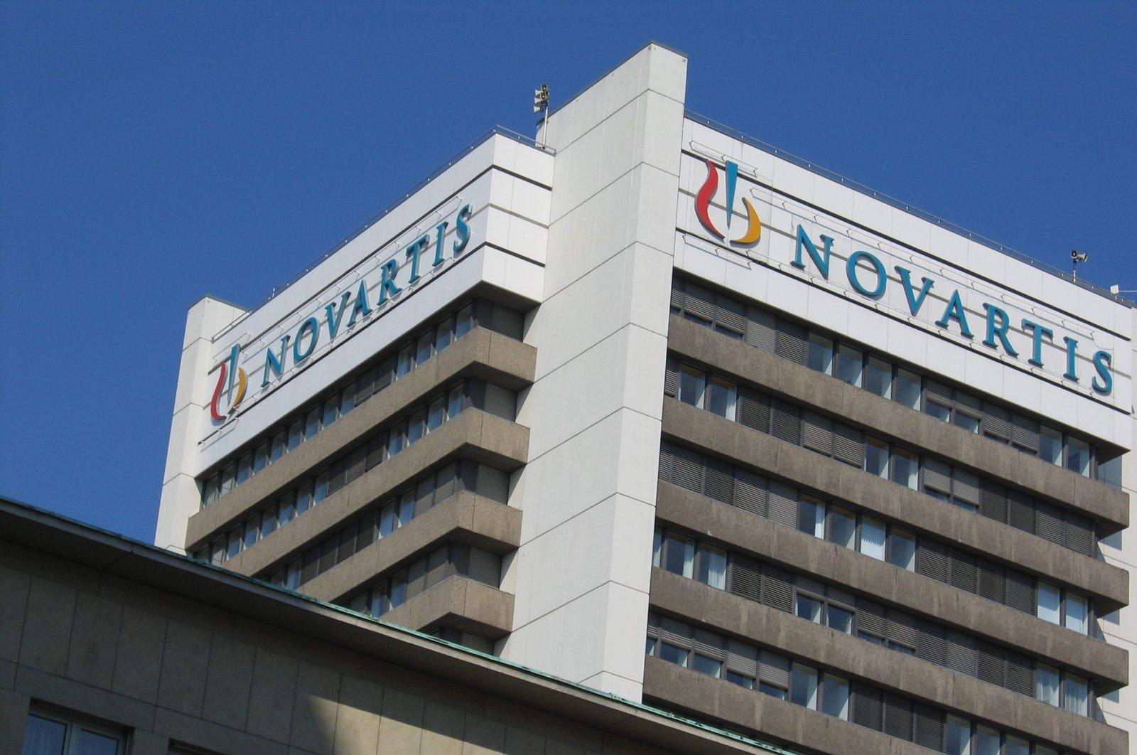 Swiss drugmaker Novartis' logo is seen in the undated file photo.