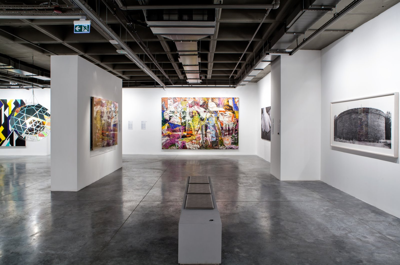 """Still shot from """"Artists in Their Time"""" exhibition's virtual tour. (Courtesy of Istanbul Modern)"""