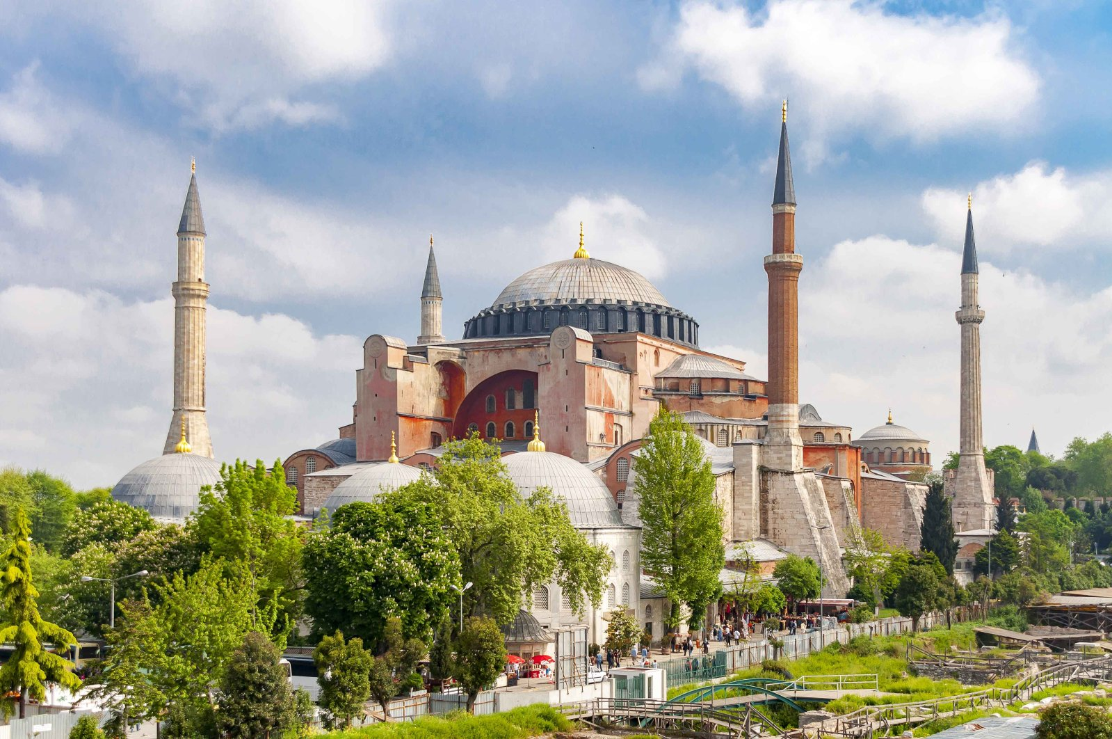 Hagia Sophia is one of the world's most important historical and cultural heritage sites. (iStock Photo)