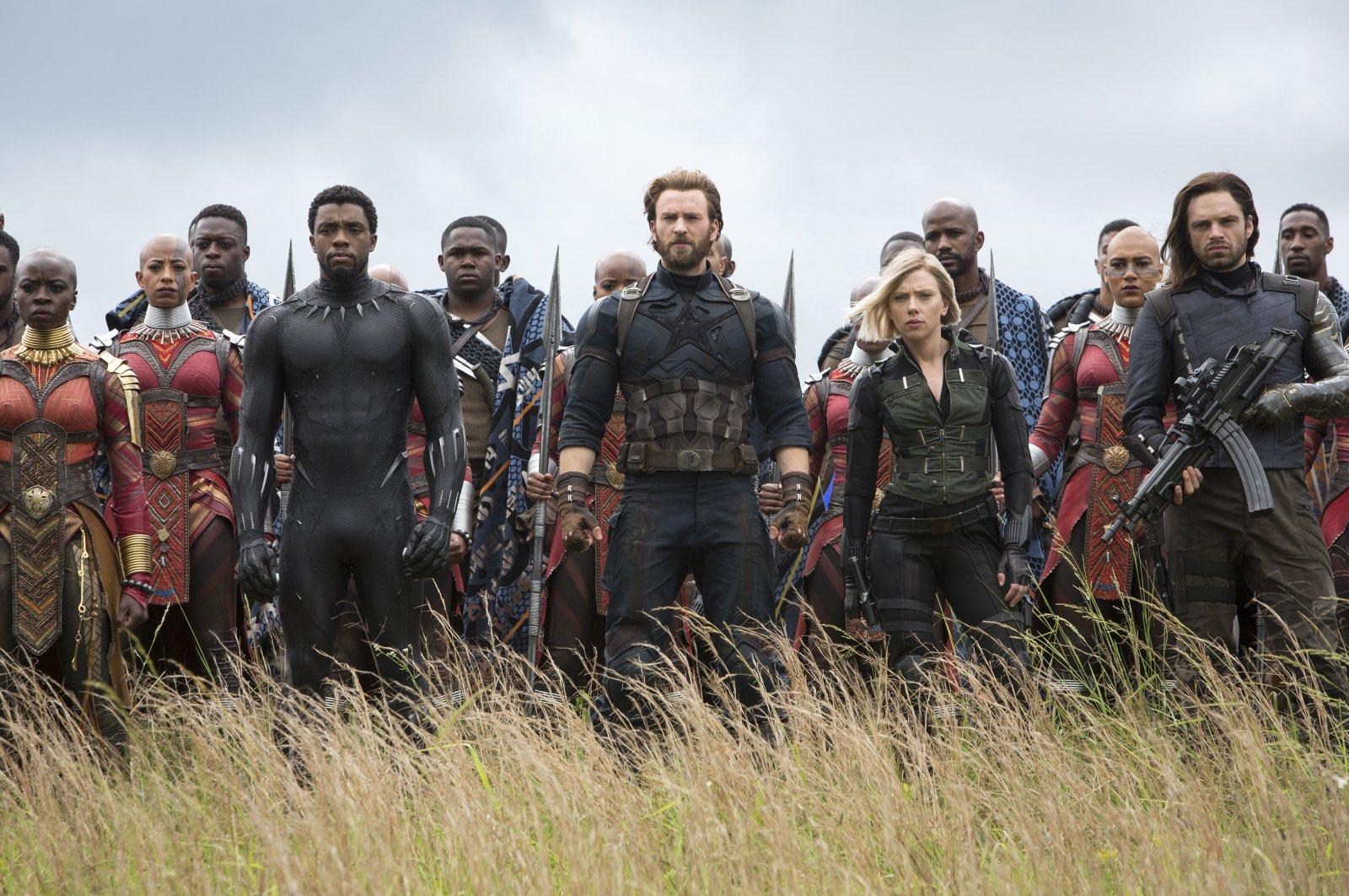 """Still shot from """"Avengers: Infinity War."""""""
