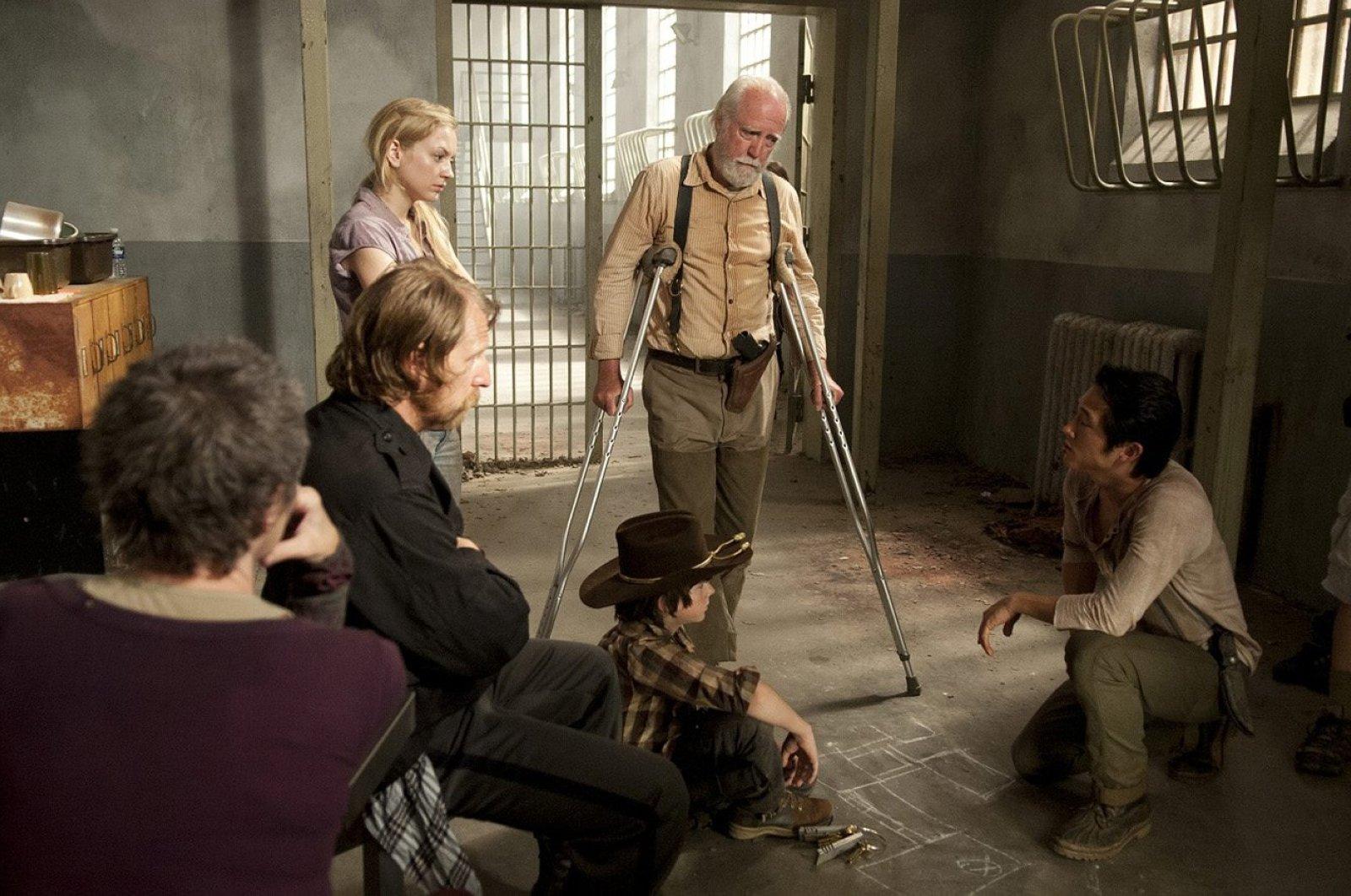 """Still shot from """"The Walking Dead,"""" Season 3, Episode 10."""
