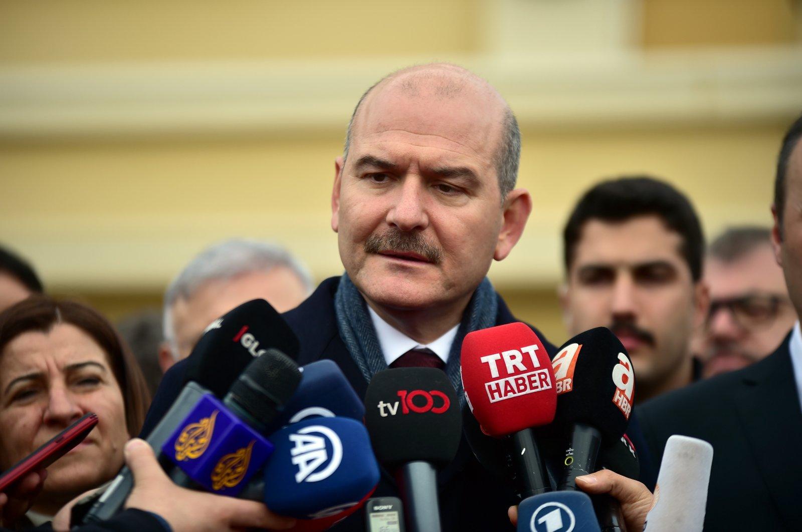 Interior Minister Süleyman Soylu (DHA Photo)