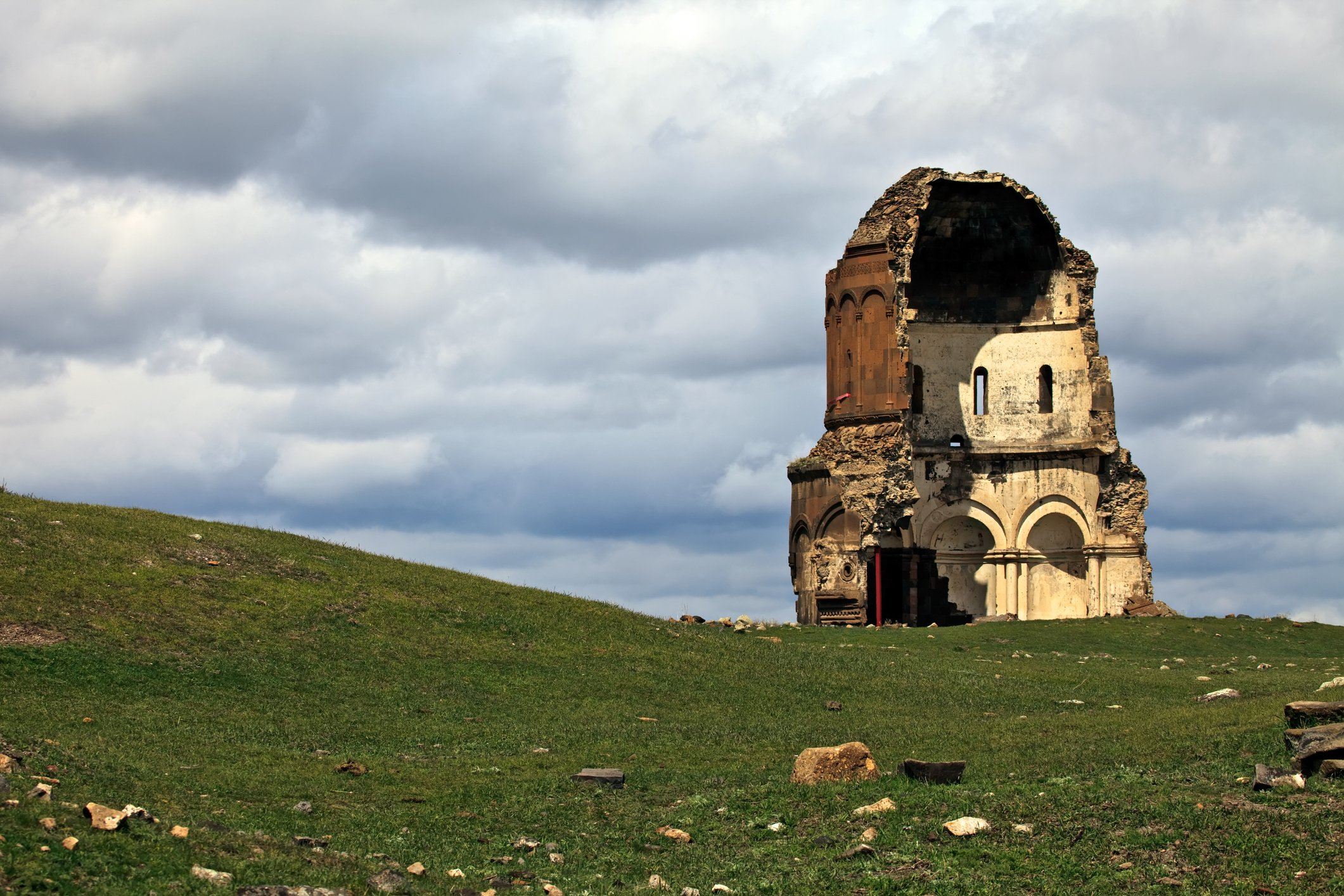 The ruins of the ancient capital of Armenia are currently in Turkey, accessible only from the town of Kars. (iStock Photo)