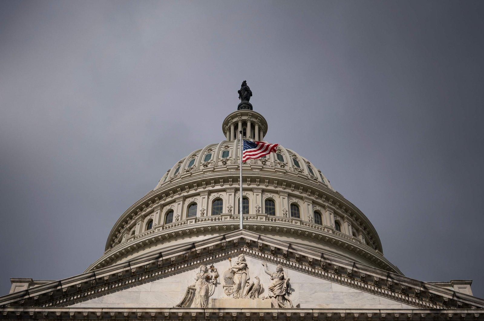 The U.S. Capitol in Washington, D.C., Thursday, March 26, 2020. (AFP Photo)