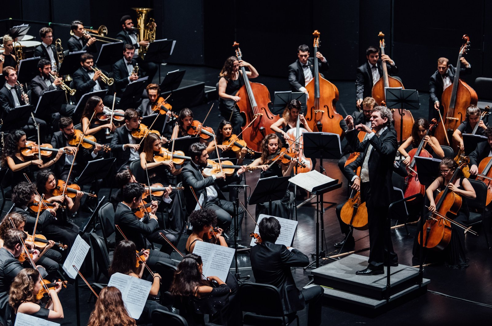 The TUGFO marks its 14th anniversary this year under the baton of maestro Cem Mansur. (AA Photo)