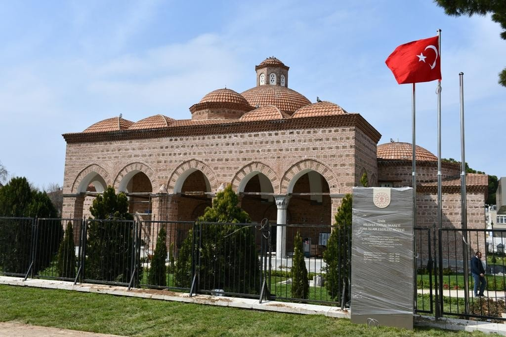 The building of İznik Museum opened for visitors in 1960. (İHA Photo)