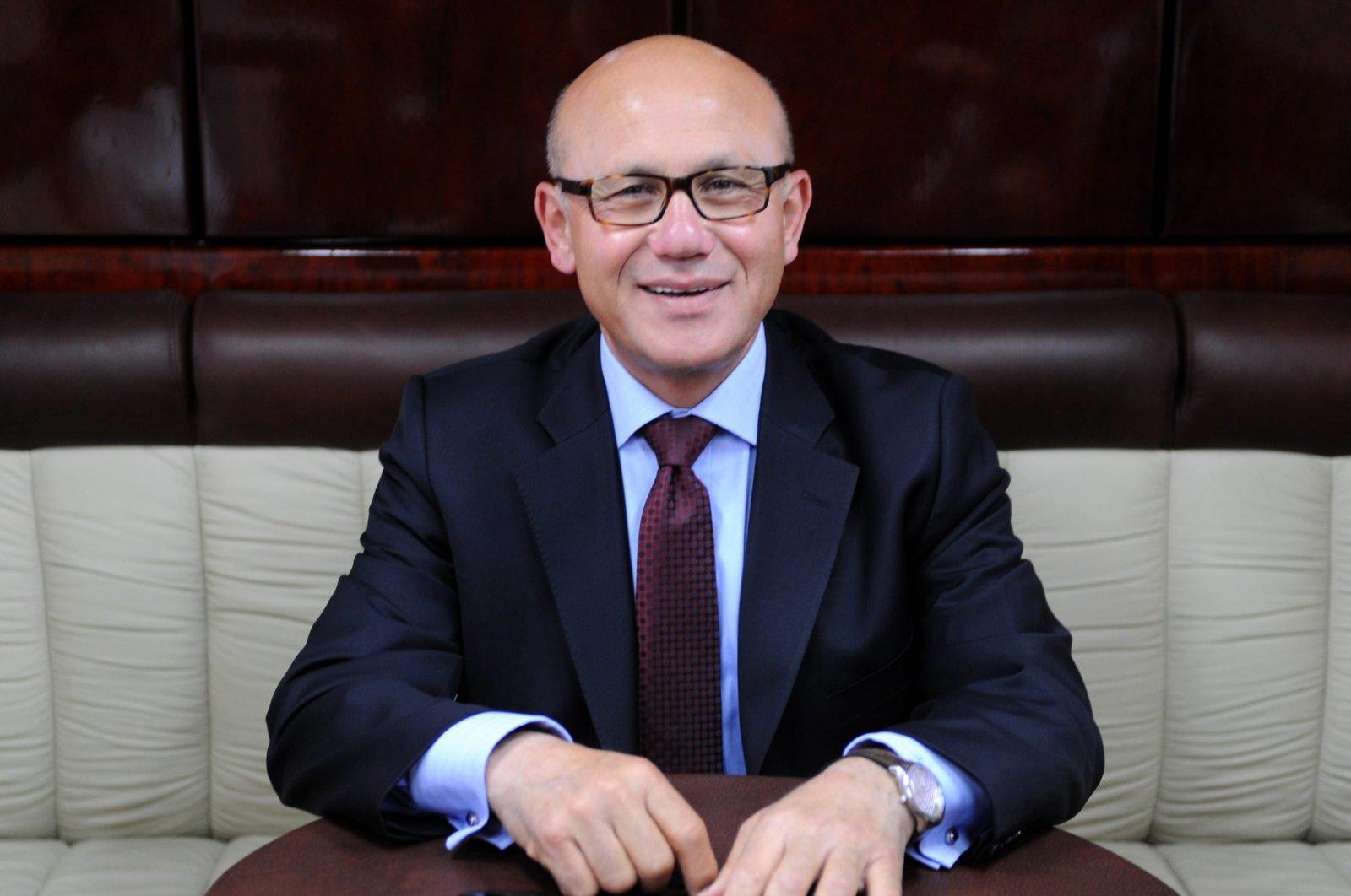 Former President of TRNC Mehmet Ali Talat. (AA)