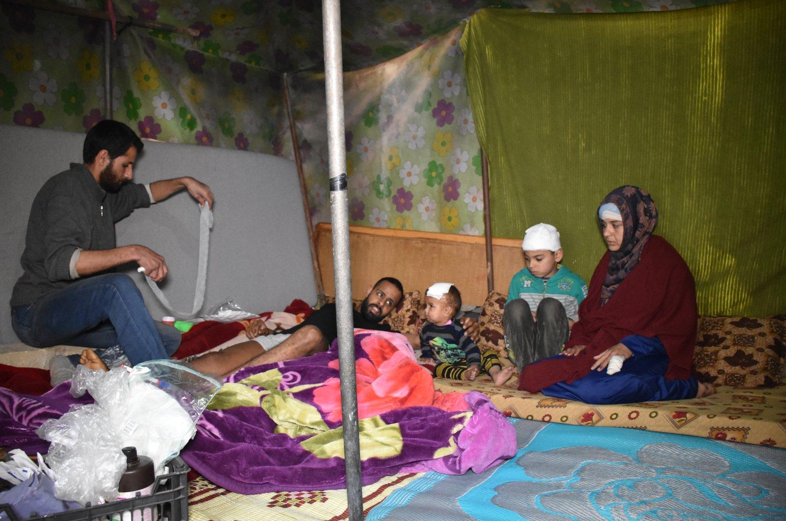 Qutaish family (AA Photo)