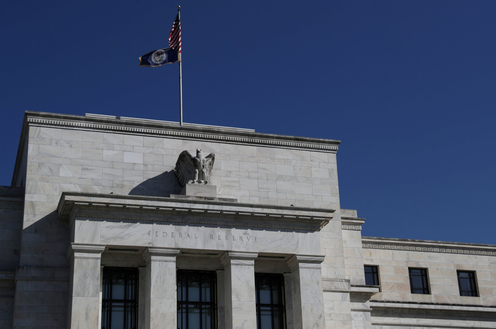 The U.S. Federal Reserve Board building on Constitution Avenue, Washington, U.S., March 19, 2019. (Reuters Photo)
