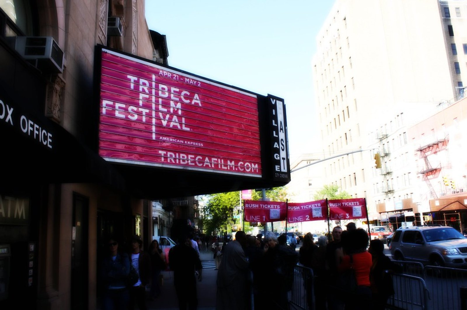 Tribeca Film Festival was planned to be organized between Apr. 15 and 26 this year.