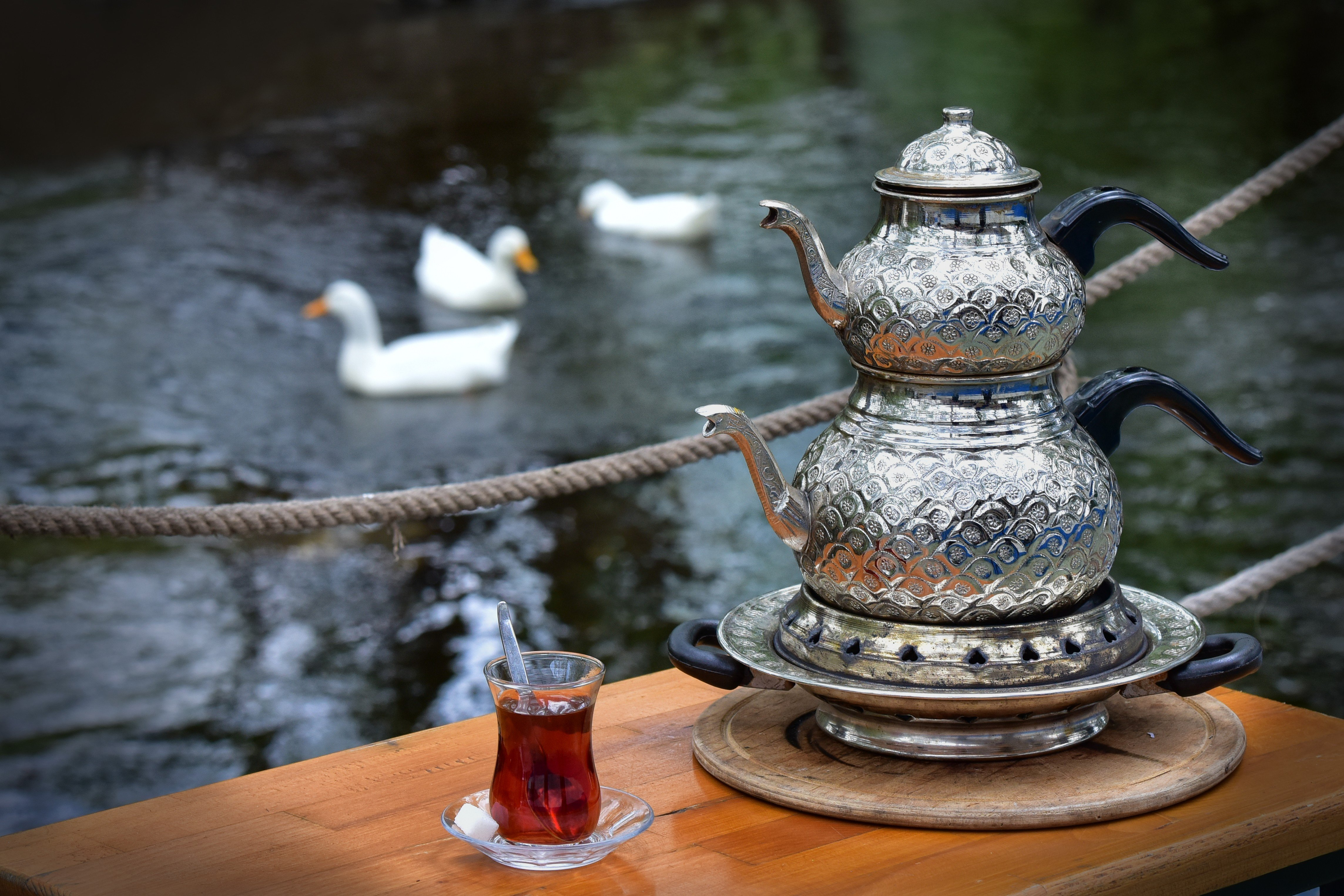 Tea, the most commonly consumed hot drink in Turkey, is an important part of social gatherings in Turkish culture. (İHA Photo)