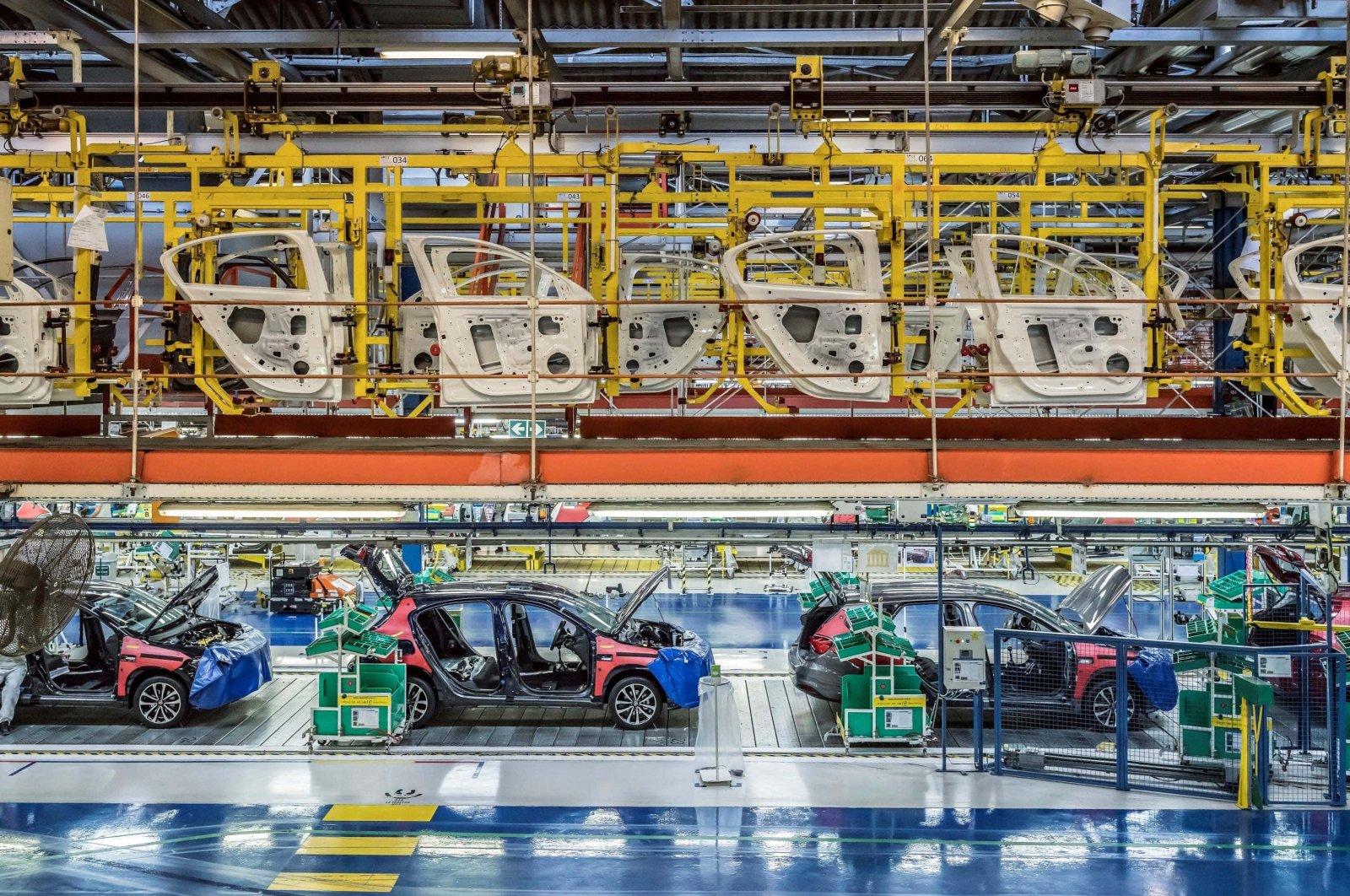 A joint venture of Turkey's Koç Holding and Italy's Fiat Chrysler, Tofaş's factory in northwestern Turkey's Bursa province. (AA Photo)