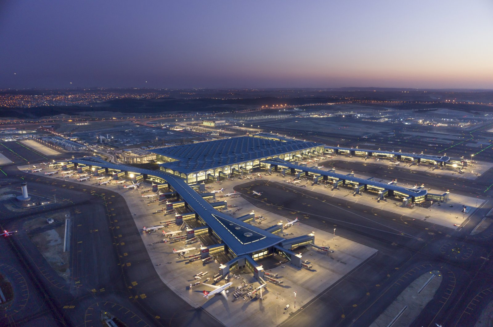 An aerial view of Istanbul Airport. (Photo courtesy of IGA Operations)