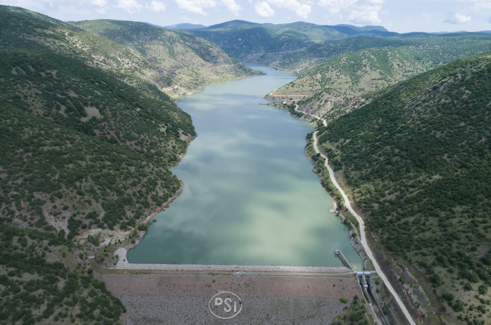 According to Pakdemirli, water levels in Istanbul's dams are currently enough to supply the city for seven months without any rainfall. (AA Photo)
