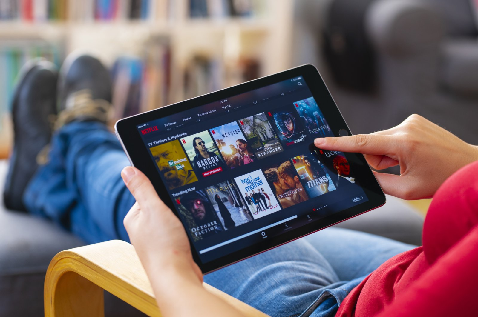Netflix's auto-playing previews are one of its most annoying features. (iStock Photo)