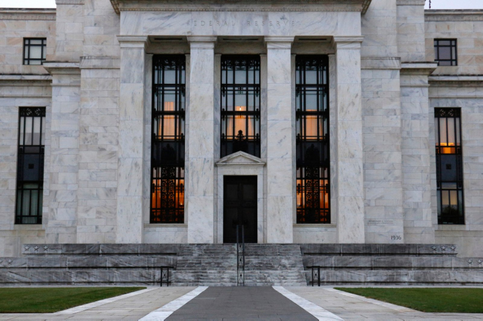 The Federal Reserve Building in Washington D.C., U.S., July 31, 2019. (AP Photo)