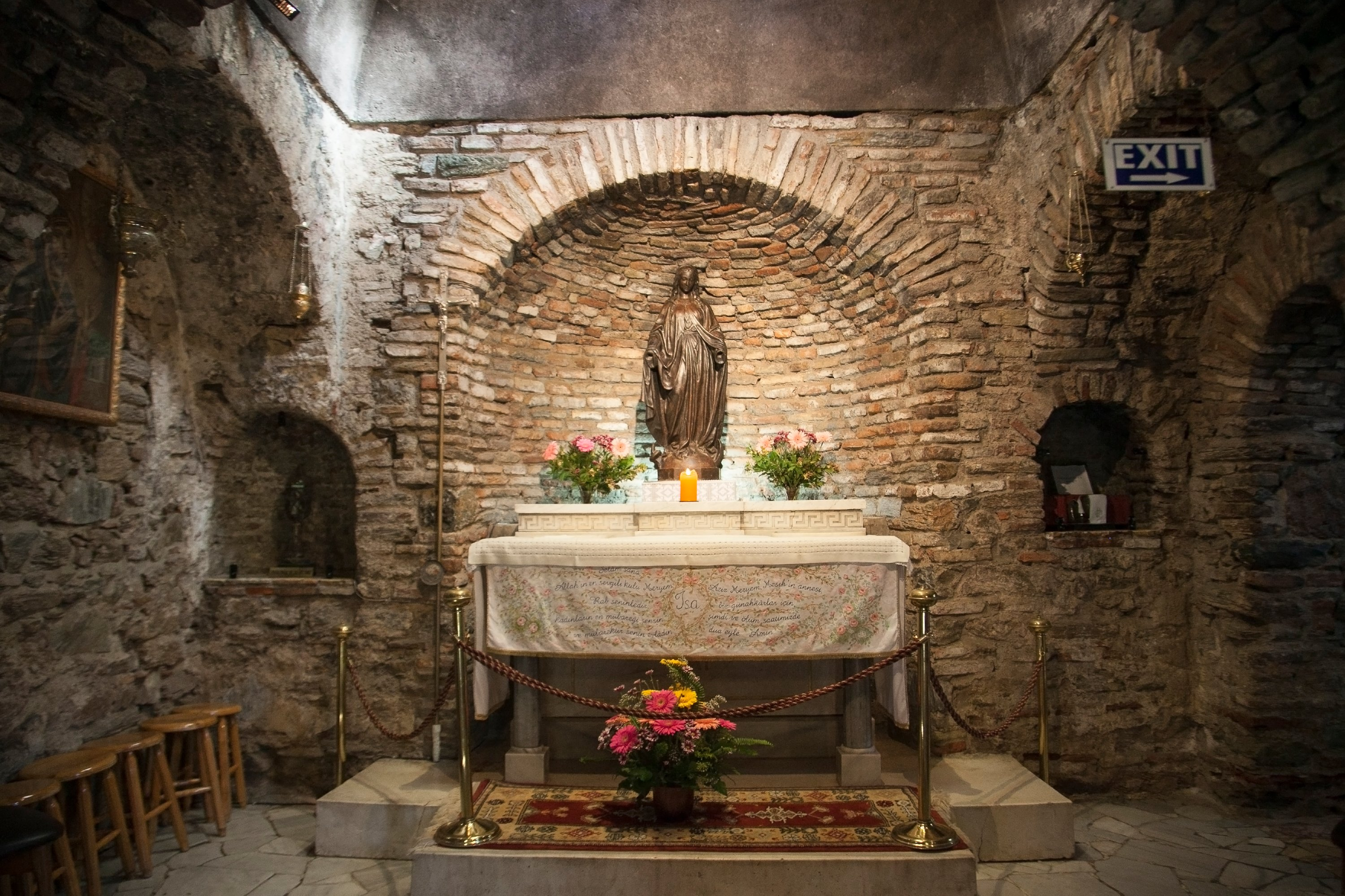 The House of Virgin Mary is the place where Mary is said to have spent her last days. (iStock Photo)