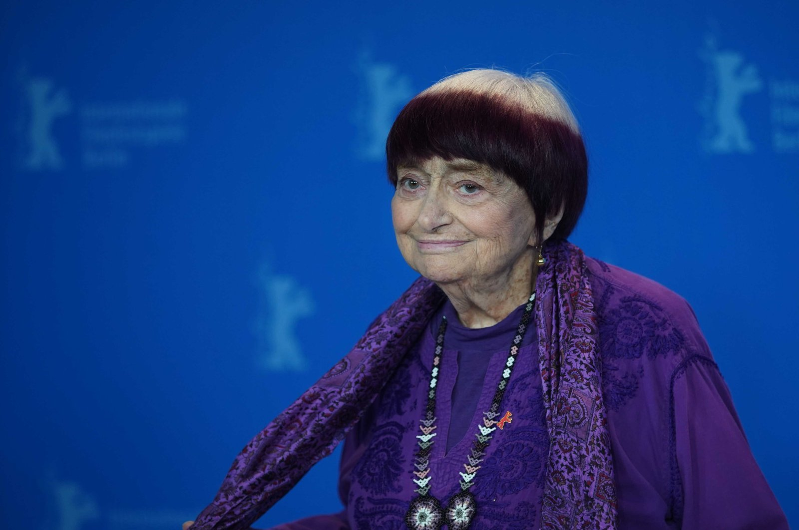 Agnes Varda attends the Varda By Agnes photocall during the 69th Berlinale Festival Berlin at Grand Hyatt Hotel on February 13, 2019 in Berlin, Germany. (Shutterstock Photo)