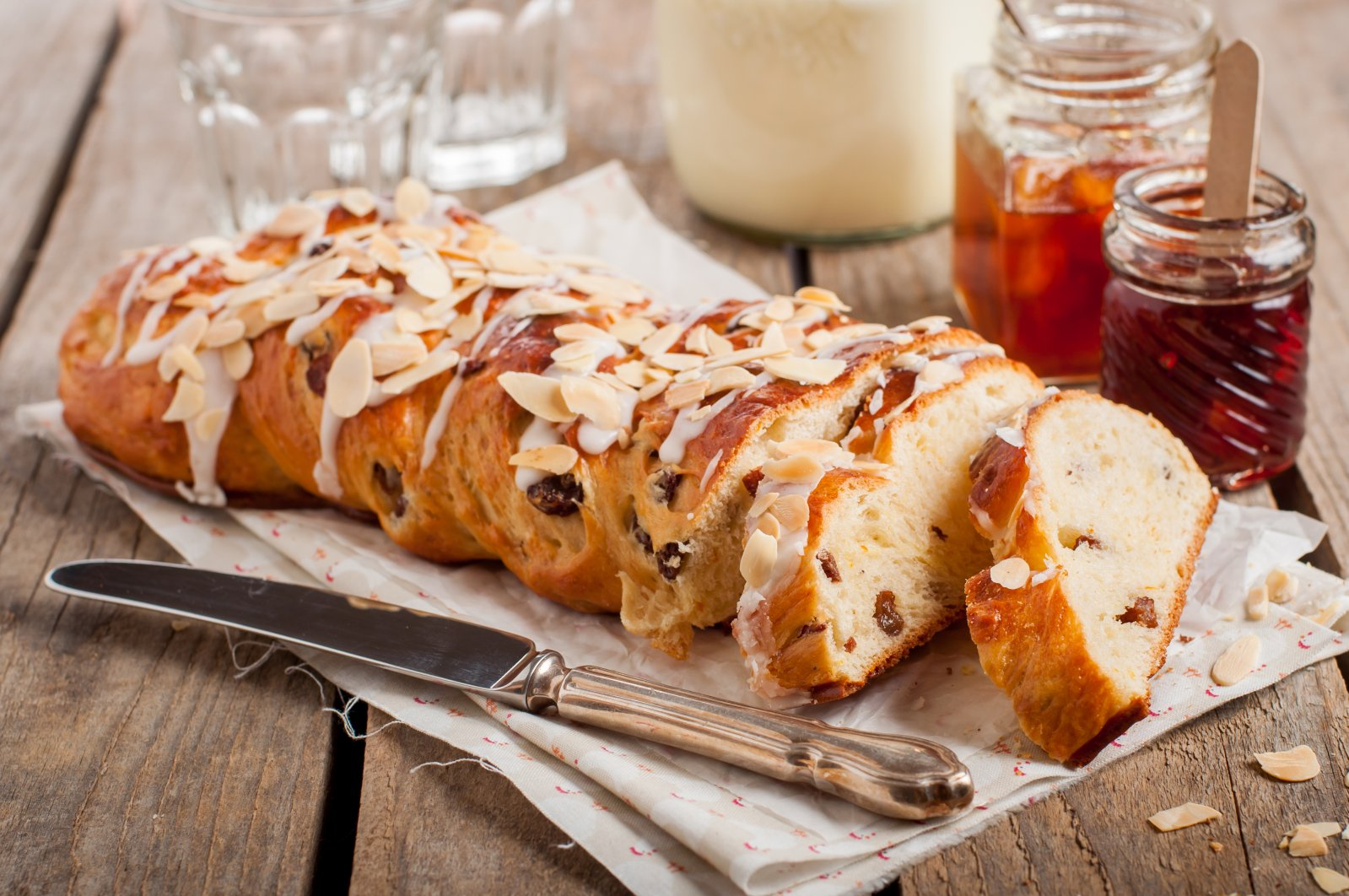 Braided Bread is an Easter classic but it tastes great all year round. (Shutterstock Photo)