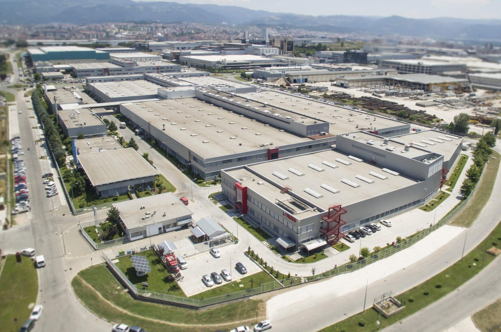 A view of Bosch's factory in Turkey's northwestern Bursa province, July 20, 2017. (İHA Photo)