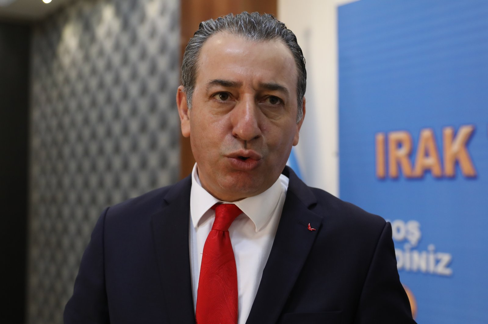 Aydın Maruf, the Minister of Region for Components' Affairs in Iraq's Kurdistan Regional Government (AA Photo)