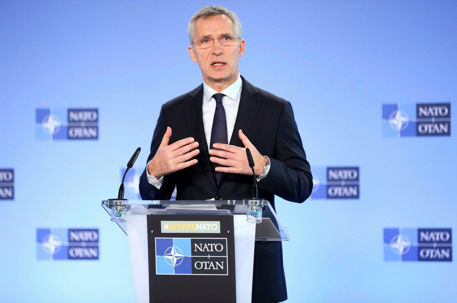 NATO General-Secretary Jens Stoltenberg (AA Photo)