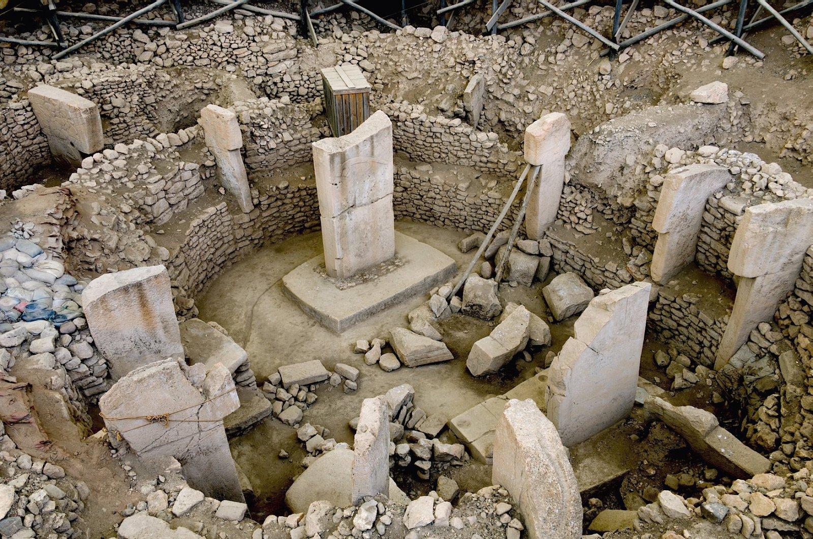 The ancient site of Göbeklitepe is seen in this undated photo, Şanlıurfa, Turkey.