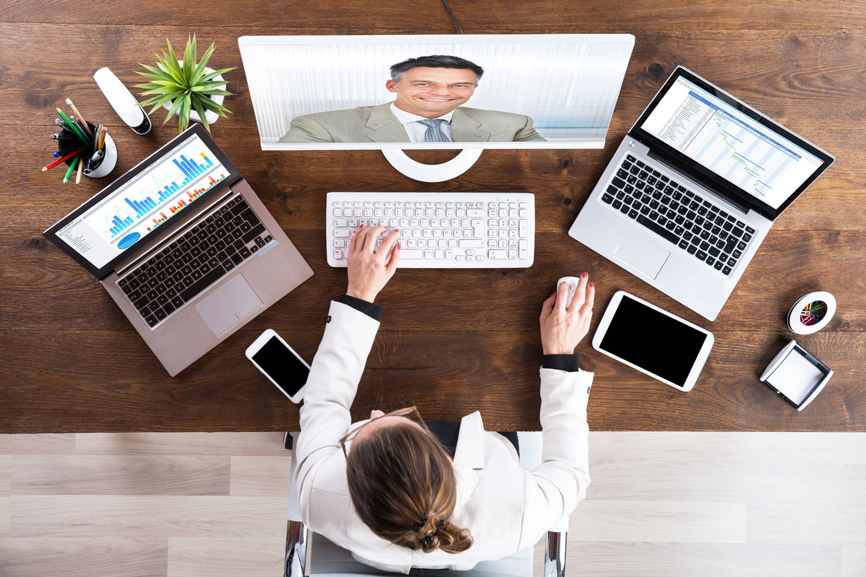 Domestic video conferencing solution, web.tv can be used for many calls from education to business meetings.