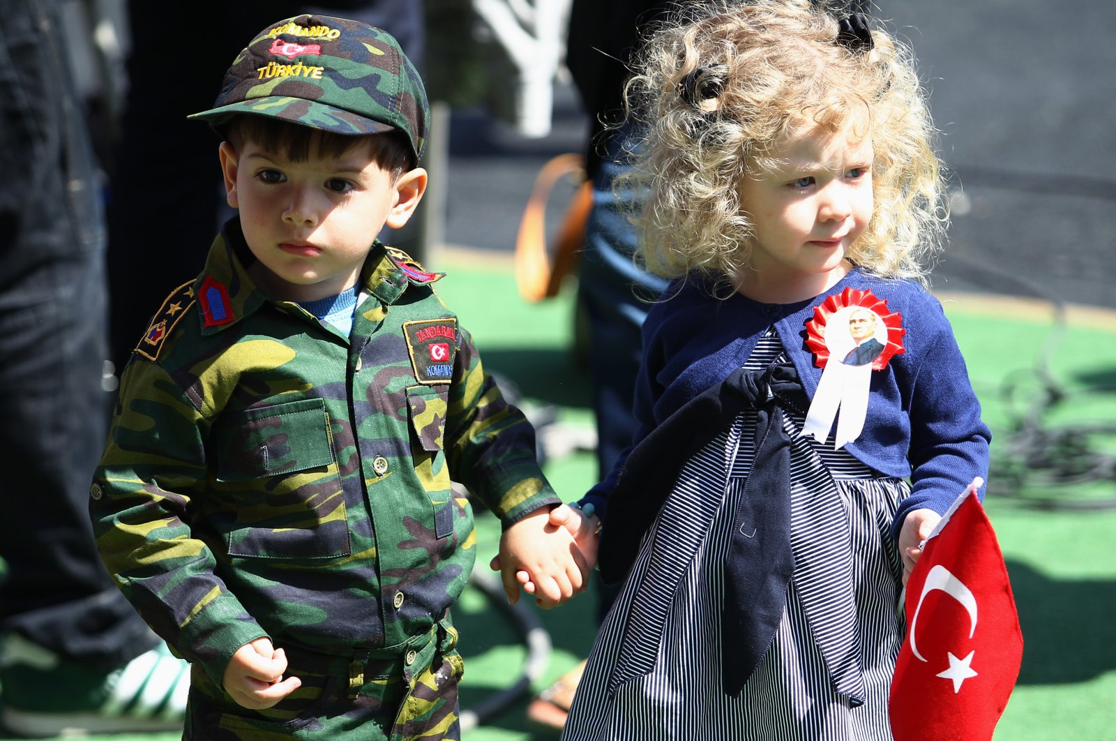 According to the newest data, children make up 27% of Turkey's population. (AA Photo)