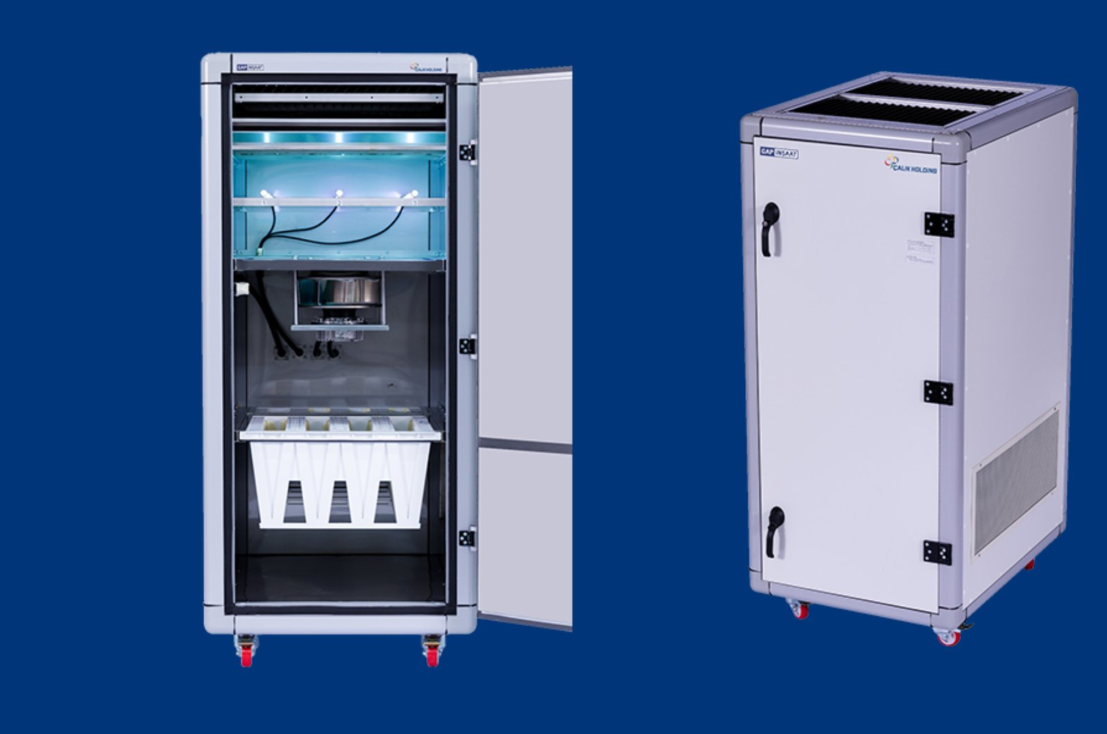 Air purifiying device developed by Çalık Holding subsidiary GAP İnşaat. (Photo courtesy of GAP İnşaat)