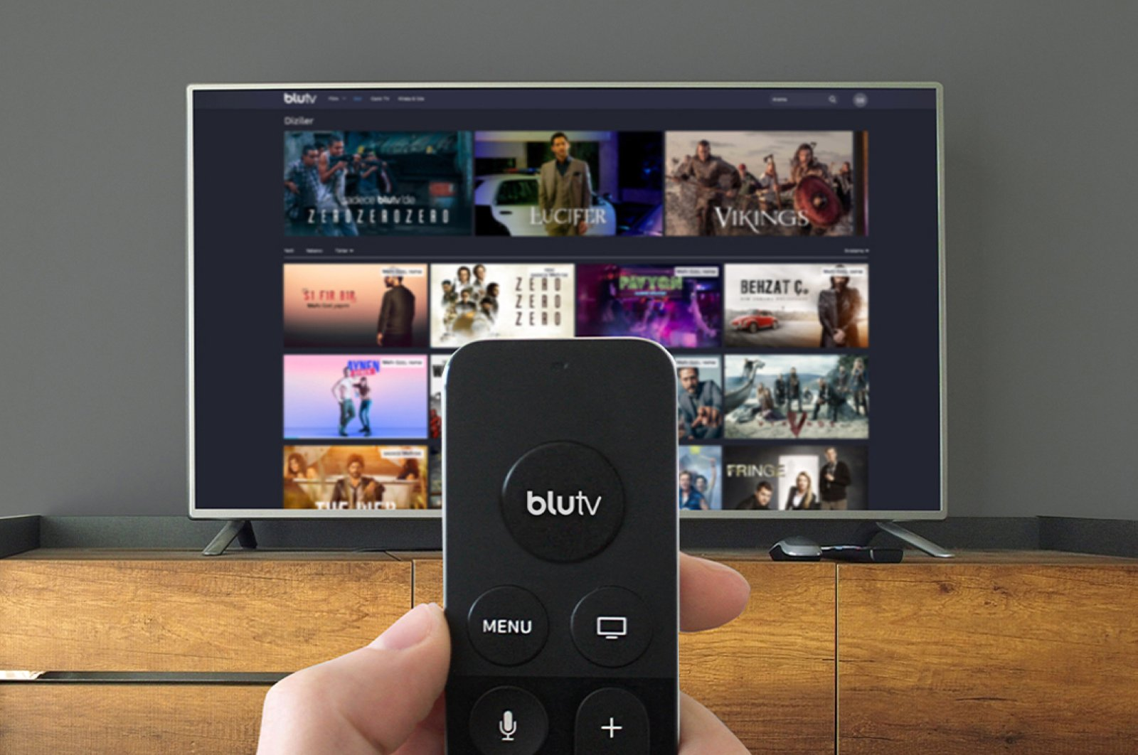 Turkish digital platform BluTV cooperates with three new operators in three countries. (File Photo)
