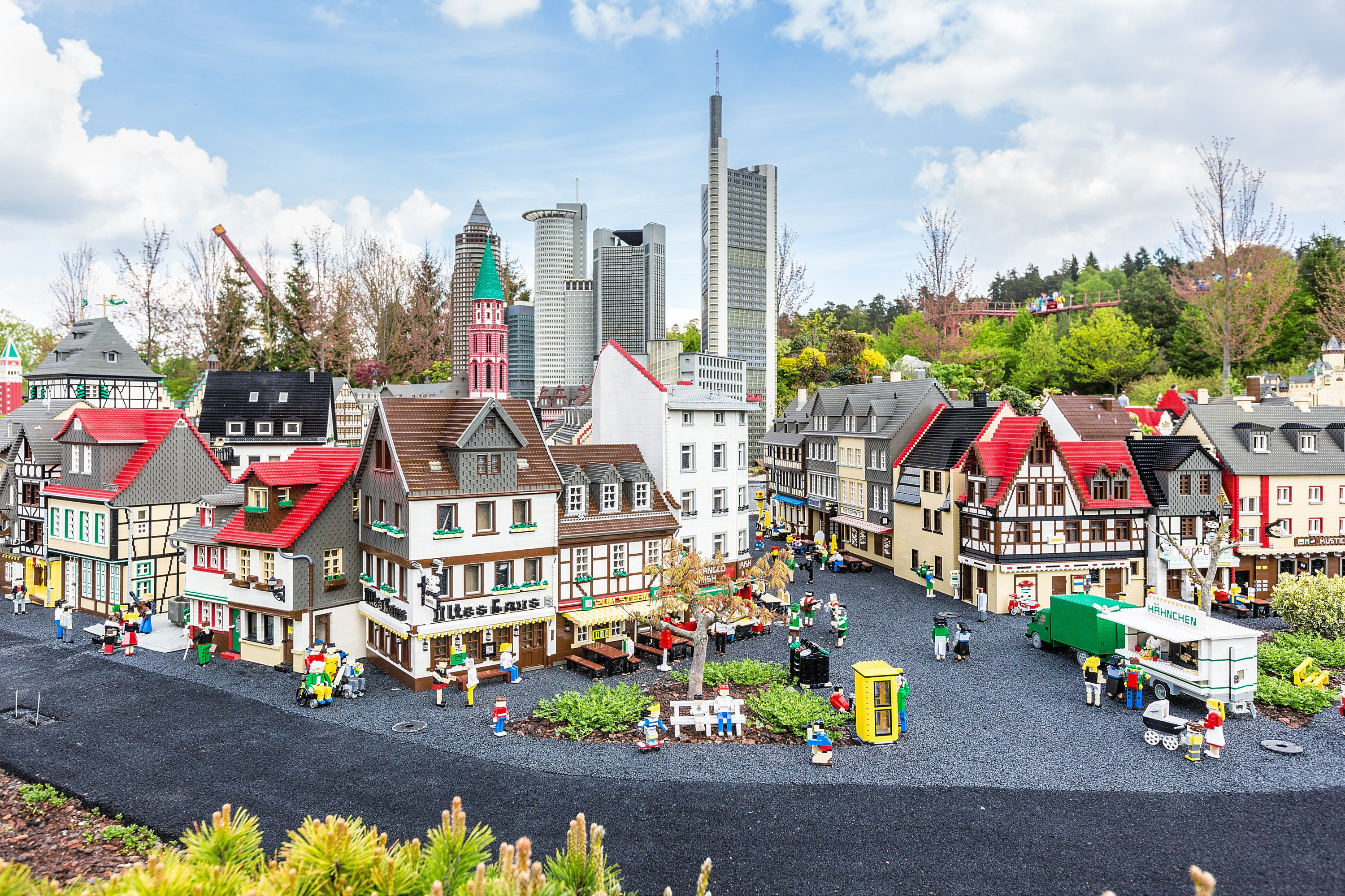 You can discover the magical world of Legos with Legoland virtual tour.