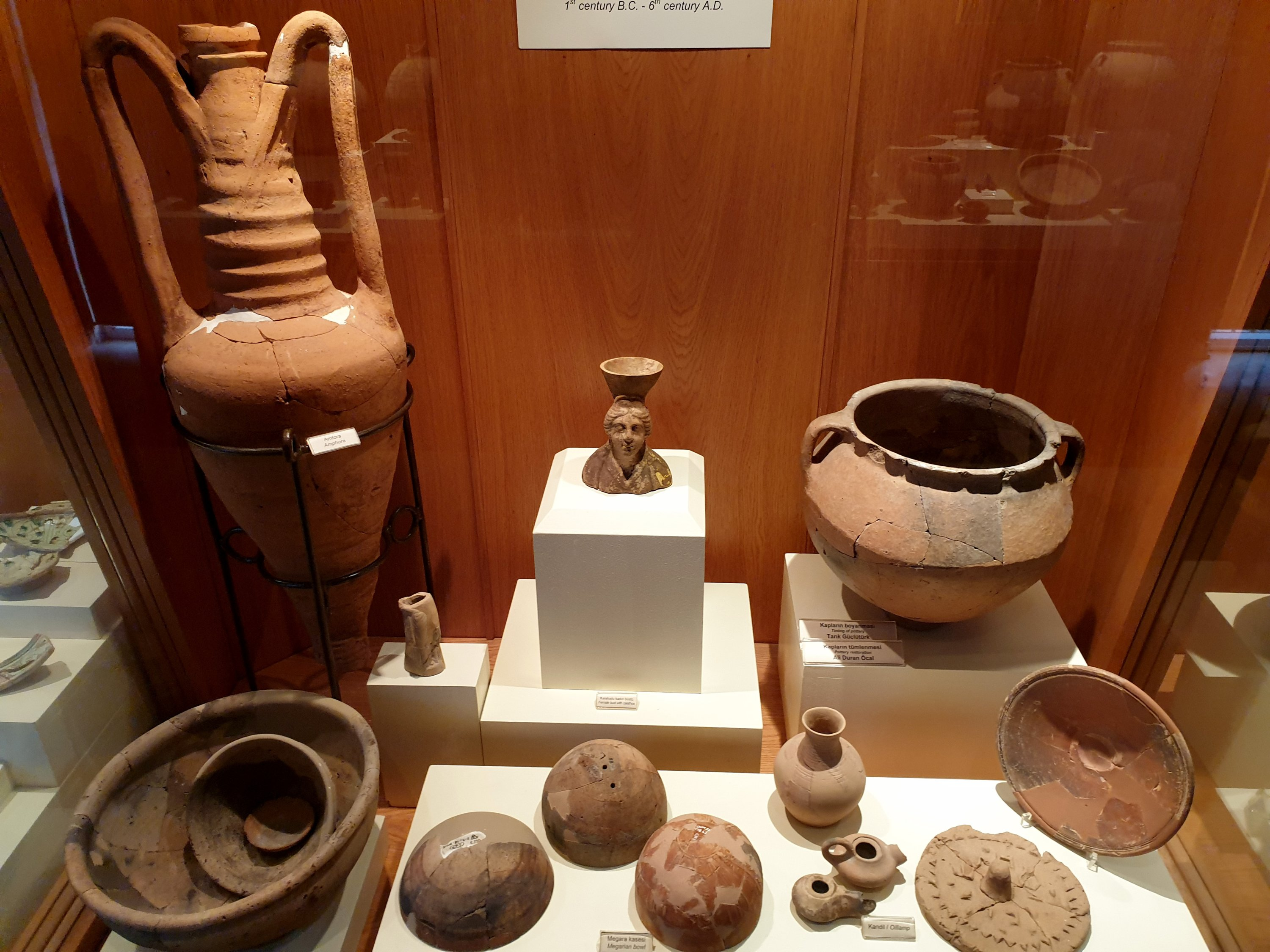 Tools used by Hittite people were unearthed during the excavations at the archaeological site. (AA Photo)