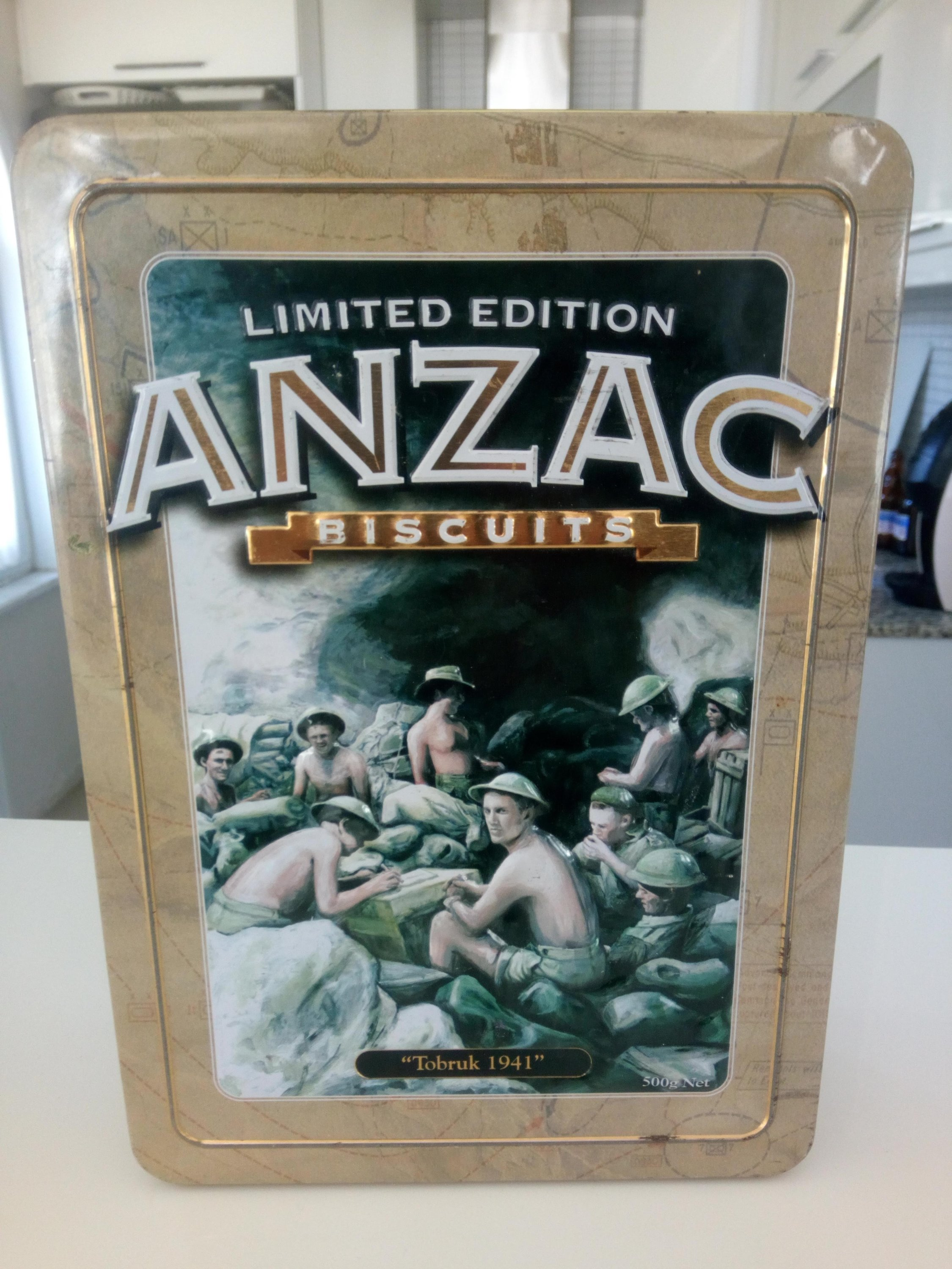 You can make Anzac biscuits, which came about as the result of soldiers using their imagination to improve their diet during the Gallipoli campaign, at home on Anzac Day.