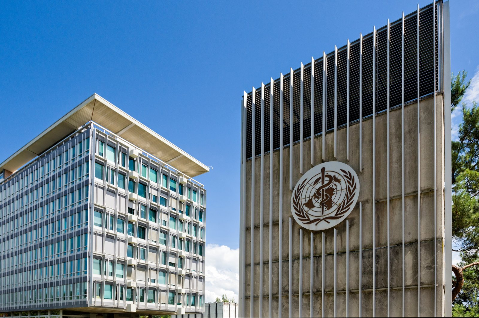 The World Health Organization (WHO) headquarters situated on the outskirts of Geneva, Switzerland, June 6, 2018. (Shutterstock Photo)