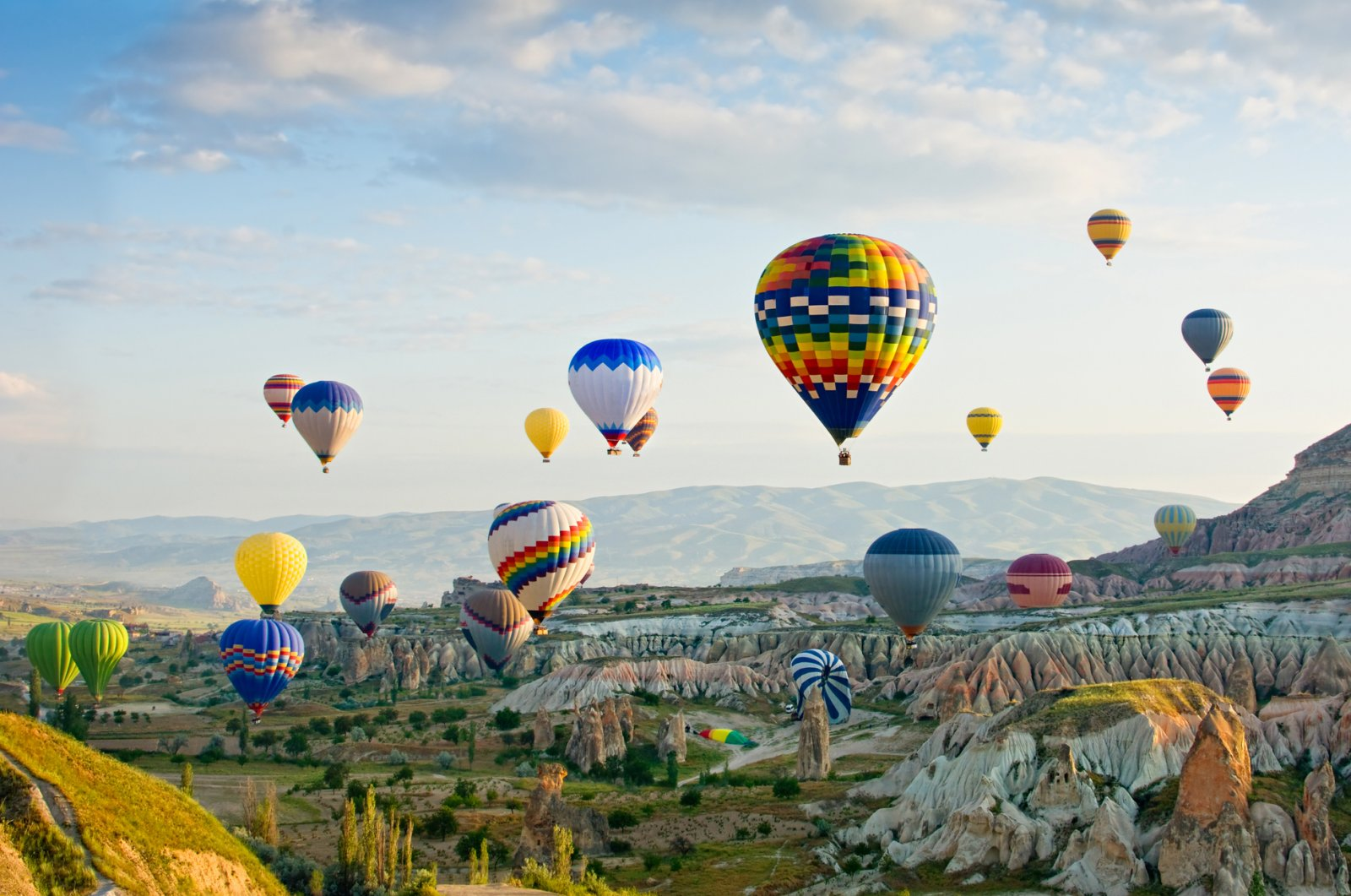 Cappadocia is one of the top tourist destinations in Turkey.