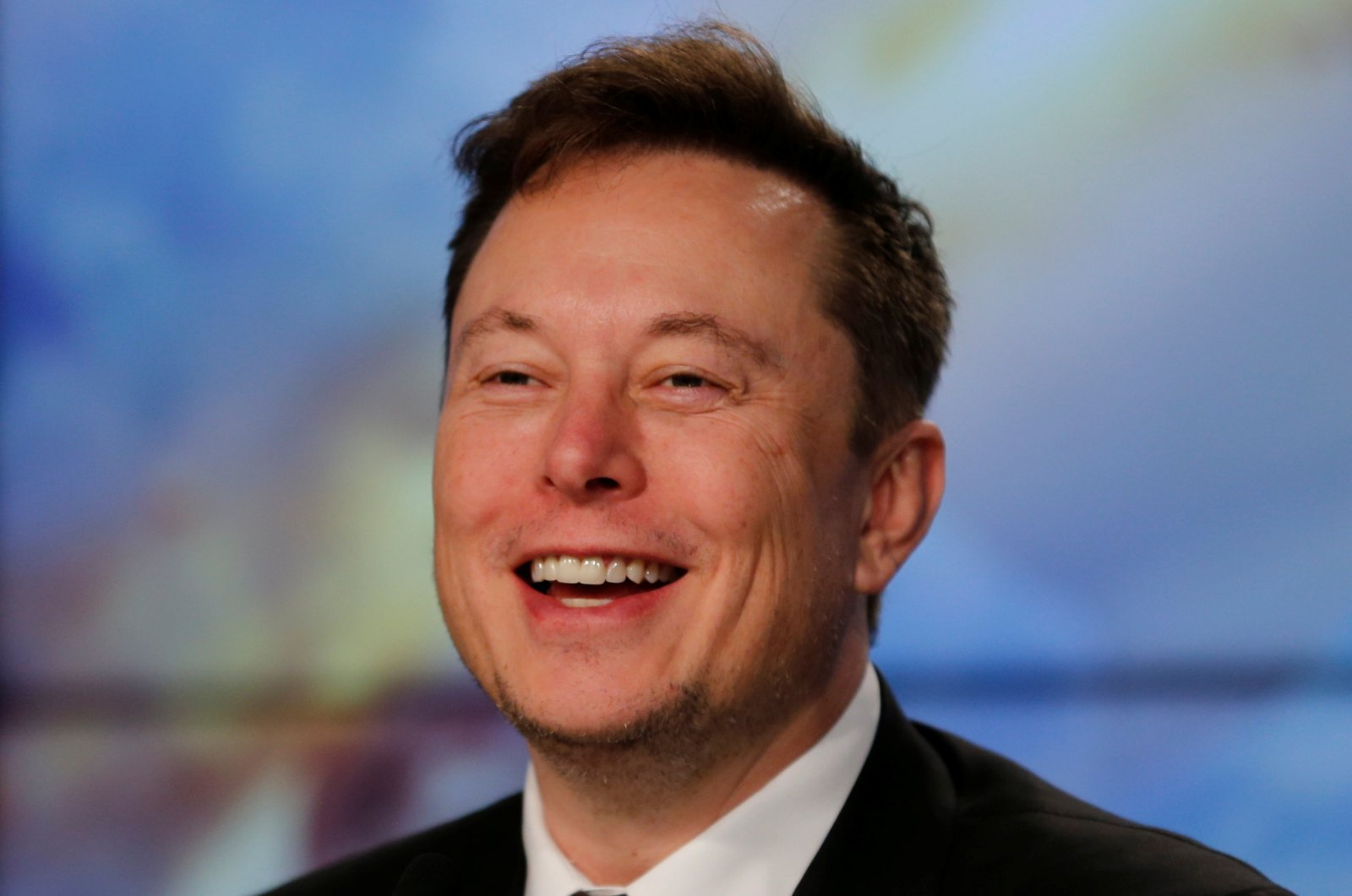 SpaceX founder and chief engineer, Elon Musk, speaks at a post-launch news conference to discuss the SpaceX Crew Dragon astronaut capsule in-flight abort test at the Kennedy Space Center in Cape Canaveral, Florida, U.S. Jan. 19, 2020. (Reuters Photo)