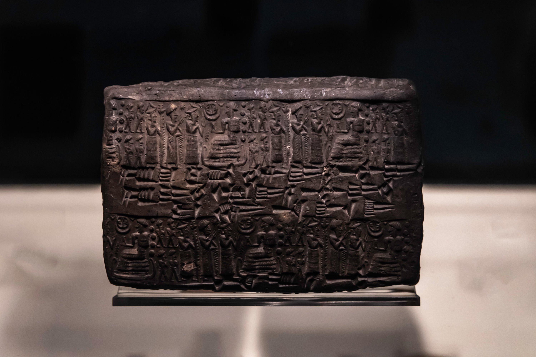 Le hittite a été écrit avec une écriture cunéiforme, une sorte de hiéroglyphe anatolien.  (Photo Shutterstock)
