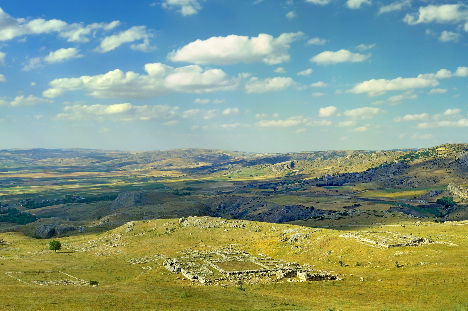 Destroyed by fire, the fall of Hattusa marked the end of the Hittite empire. (Shutterstock Photo)