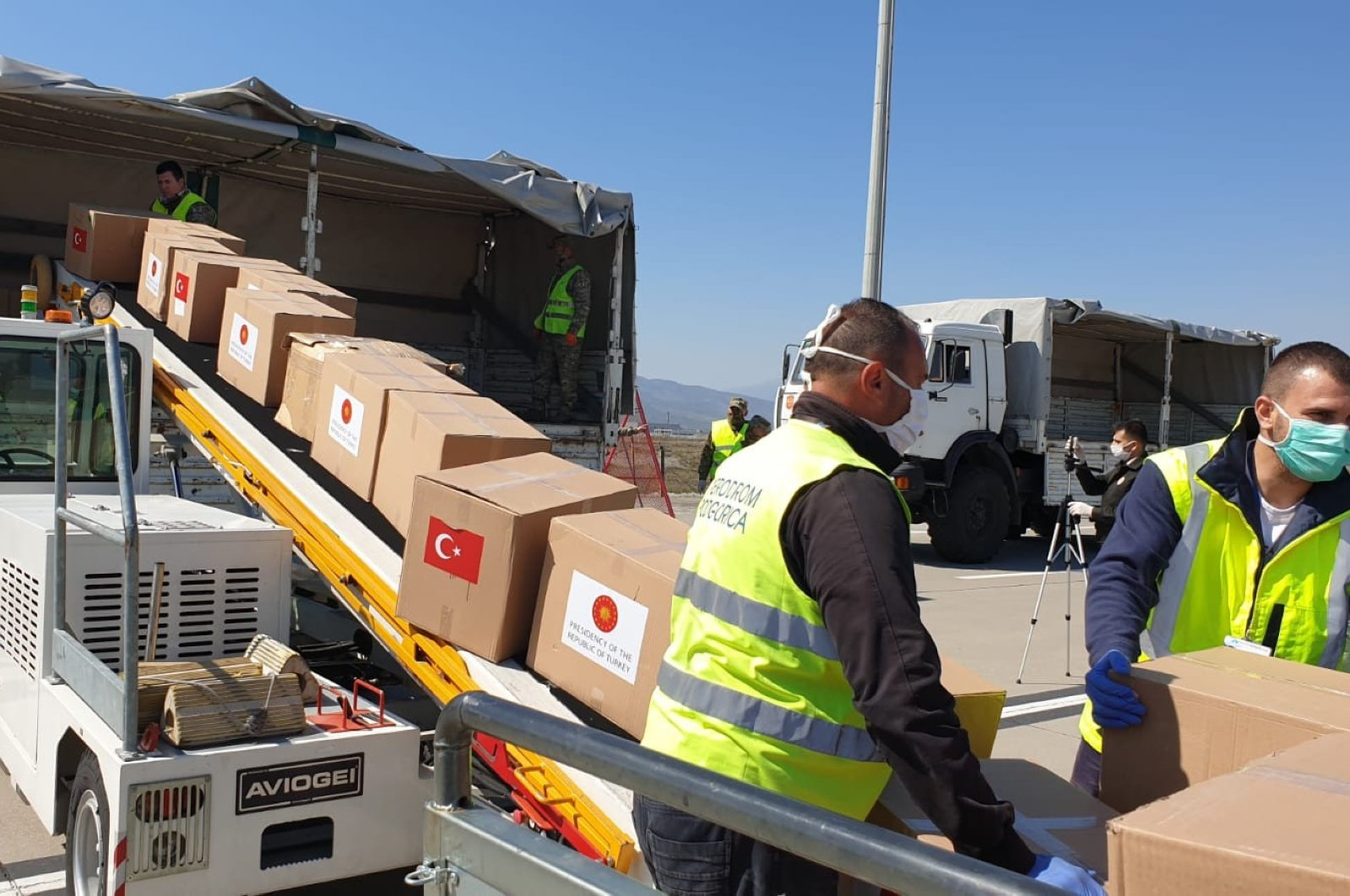 Receiving aid requests from more than 100 countries, Ankara has provided assistance to all corners of the globe, from Africa to America.